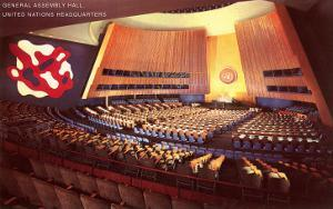 United Nations General Assembly Hall, New York City