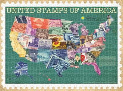 United Stamps of America 1000 Piece Puzzle