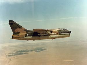 United States Air Force A-7D Corsair Jet Aircraft