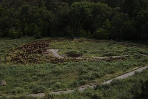 United States. Bandelier National Monument, Tyuonyi, Pueblo Indian Settlement
