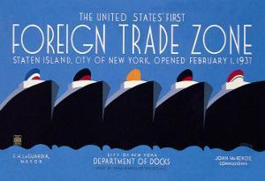 United States' First Foreign Trade Zone