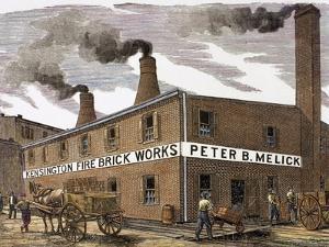 United States. Kensington Fire Brick Works
