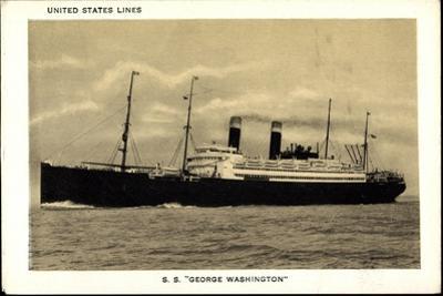 United States Lines, Dampfschiff George Washington