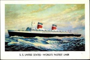 United States Lines, S.S. United States, Liner