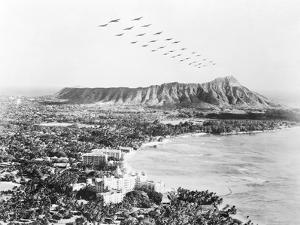 United States Military Aircraft Responding to Pearl Harbor Attack