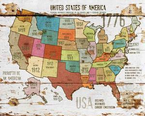 United StatesOf America Map II