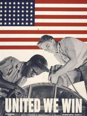 United We Win, US Propaganda Poster