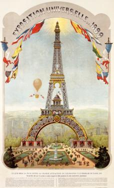Universal Exposition Fair, Paris, c.1889