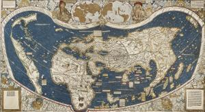 Universal Map, Belonging to the Work Cosmographiae Introductio (1507)