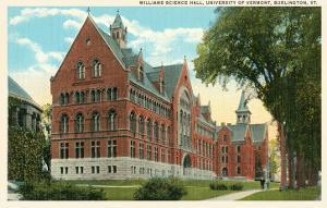 University, Burlington, Vermont