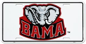 University of Alabama Elephant License Plate
