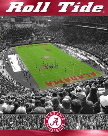 University of Alabama- Stadium Shot