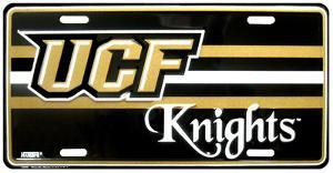 University of Central Florida Knights License Plate