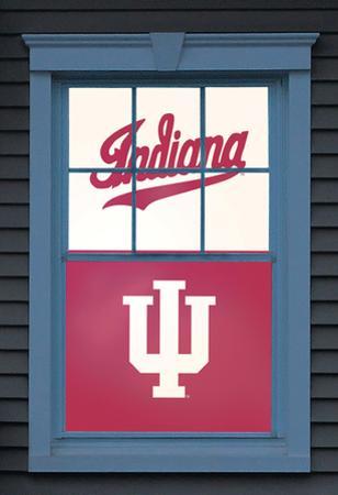 University of Indiana Indiana Hoosiers Dual WOWindow Poster