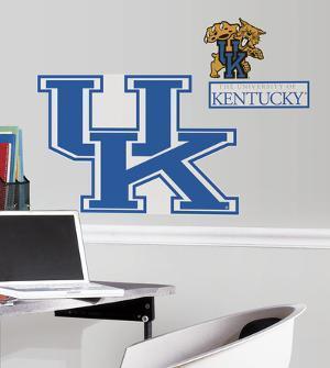 University of Kentucky Giant Peel & Stick Wall Decal