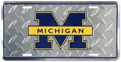 University of Michigan Diamond License Plate