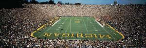 University of Michigan Stadium, Ann Arbor, Michigan, USA