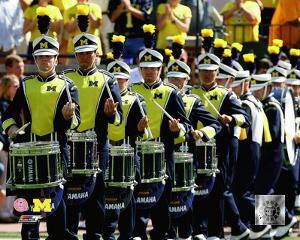 University of Michigan Wolverines Drummers