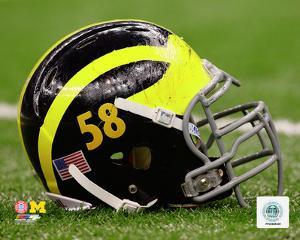 University of Michigan Wolverines Helmet