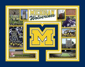 University of Michigan Wolverines Milestones & Memories