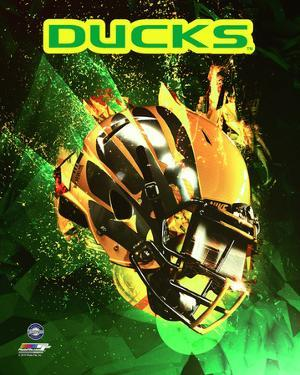 University of Oregon Ducks Helmet