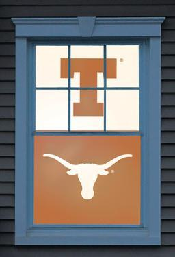 University of Texas Bevo Dual WOWindow Poster