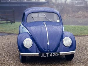 A 1947 Volkswagen Beetle by Unknown