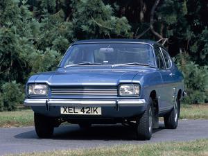 A 1972 Ford Capri 1600L by Unknown