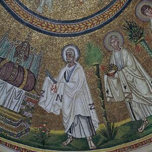 A byzantine mosaic of St Peter, 5th century by Unknown