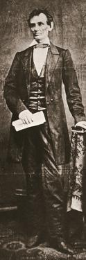 Abraham Lincoln, 16th President of the United States, 1860 by Unknown