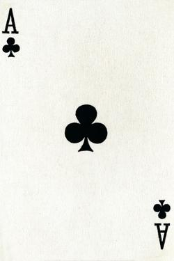 Ace of Clubs from a deck of Goodall & Son Ltd. playing cards, c1940 by Unknown