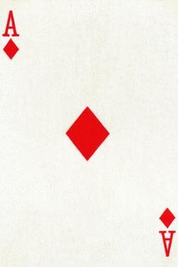 Ace of Diamonds from a deck of Goodall & Son Ltd. playing cards, c1940 by Unknown