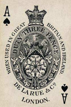 Ace of Spades, 1925 by Unknown