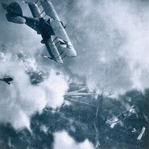Aerial combat on the Western Front, World War I, 1914-1918 by Unknown