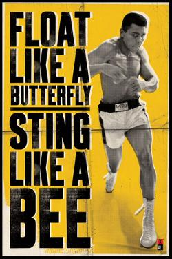 Ali – Float Like a Butterfly by Unknown