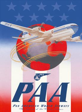 American Stars & Stripes - Pan American Airways (PAA) - Boeing 377 Stratocruiser by Unknown