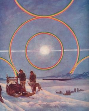 'An Awe-Inspiring Display of Solar Haloes', 1935 by Unknown