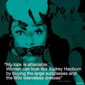 Audrey Hepburn – Attainable by Unknown