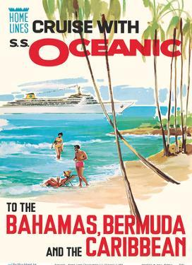 Bahamas, Bermuda and the Caribbean - Home Lines Cruise with S.S. Oceanic by Unknown