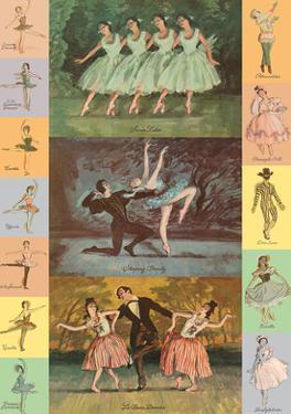 Ballet - Sleeping Beauty - Swan Lake - Le Beau Danube by Unknown