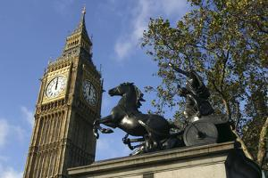 Big Ben stopped, Palace of Westminster, London, 2005 by Unknown