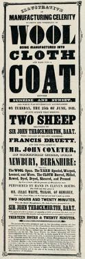 'Bill Printed for the Great Exhibition of 1851', 1851, (1910) by Unknown