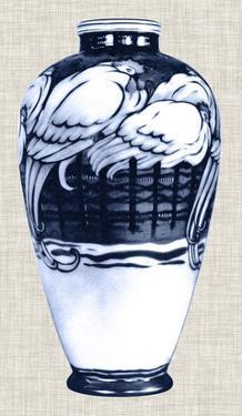 Blue & White Vase VI by Unknown