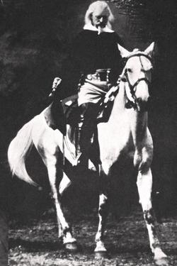 Buffalo Bill towards the end of his Wild West Show days, late 19th or early 20th century by Unknown