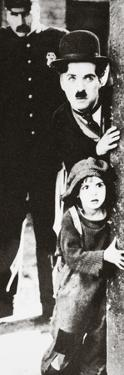 Charlie Chaplin and Jackie Coogan in 'The Kid', 1921 by Unknown