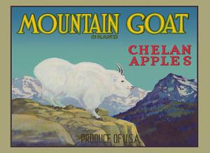 Chelan Apples - Mountain Goat Brand by Unknown