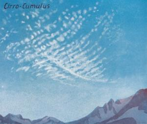 'Cirro-Cumulus - A Dozen of the Principal Cloud Forms In The Sky', 1935 by Unknown