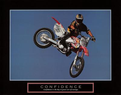 Confidence – Motorbiker by Unknown