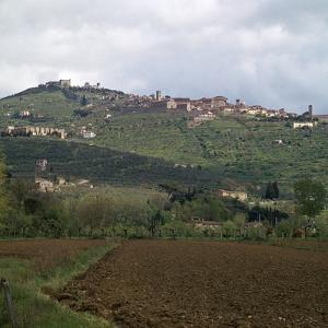 Cortona, a hill town in central Italy. Artist: Unknown by Unknown