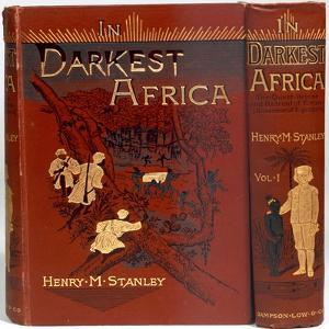 Cover of In Darkest Africa, by Henry Morton Stanley, 1890 by Unknown